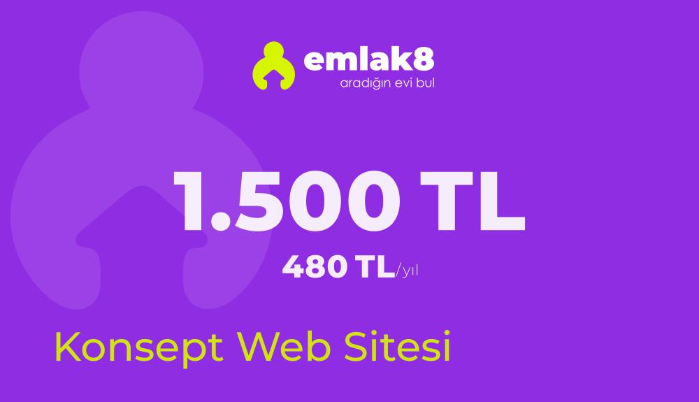 Konsept Emlak Web Sitesi Paketi