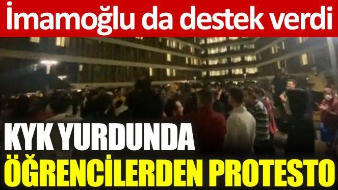 İstanbul'da yaşanan KYK protestosu!